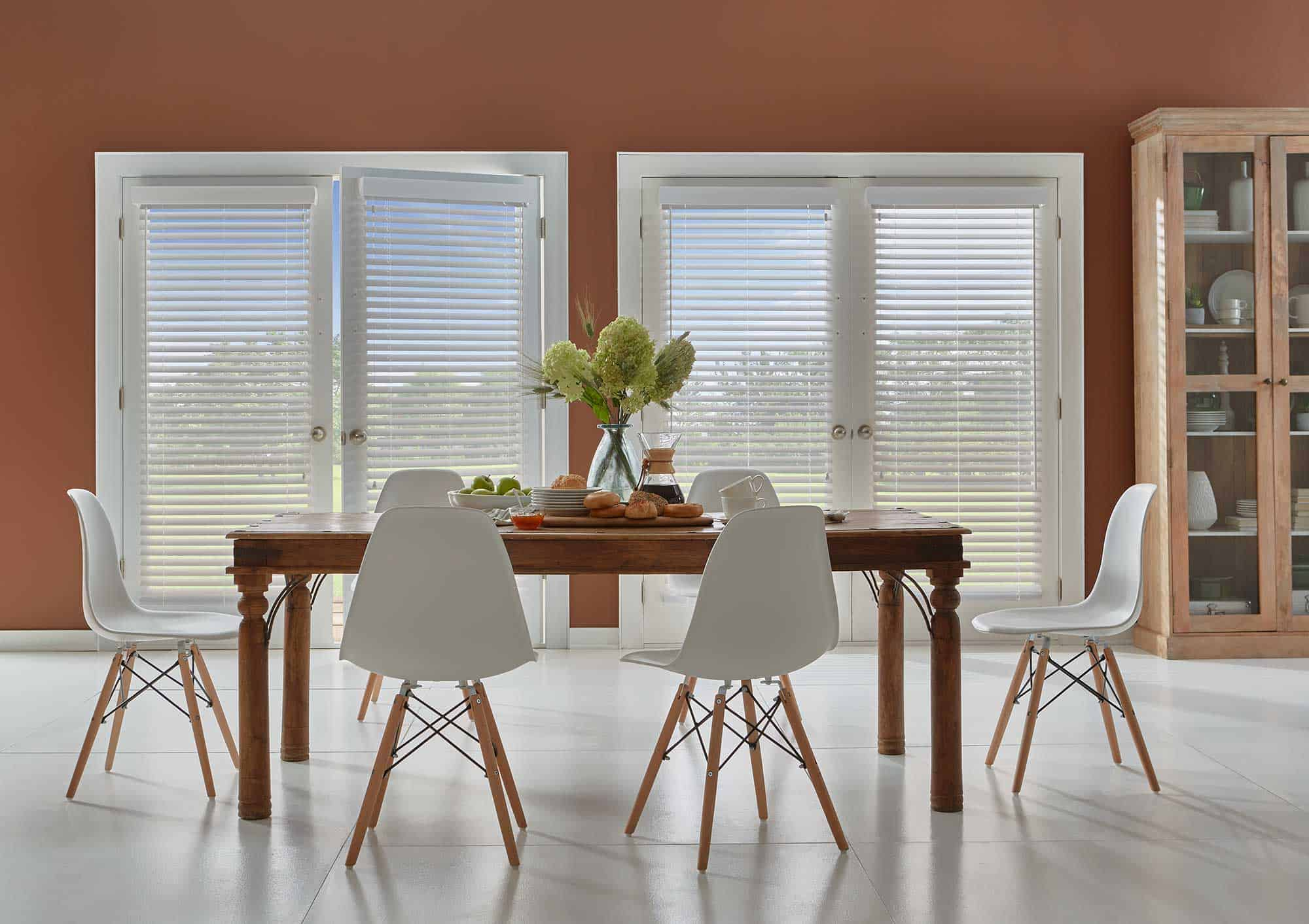 faux wood blinds installation